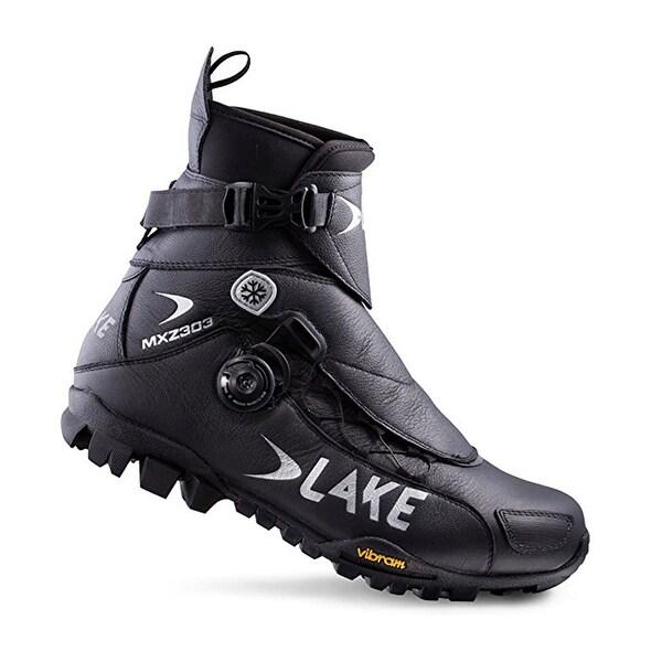 Shop Lake Men s Black MXZ 303-X Wide Winter Boots Size 44 - Free ... 07422847b75e