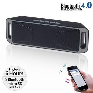 Indigi® Ultra-portable Wireless Bluetooth Speaker Soundbar Super BASS (Great Gift Idea)