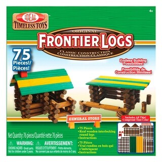 Frontier Logs 75 Pieces