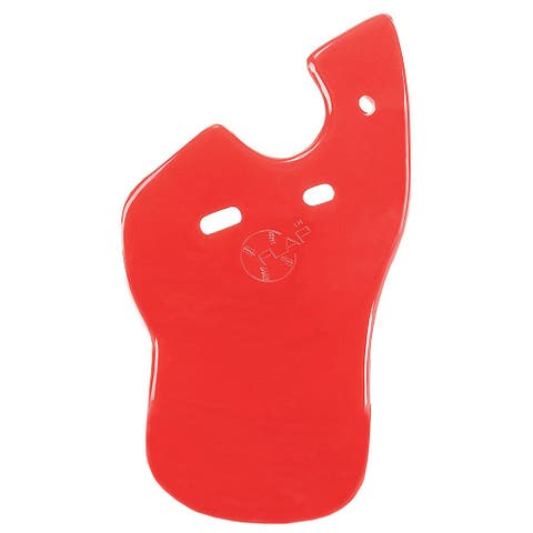 Markwort C-Flap Jaw and Cheek Protection for Right Handed Batter - Scarlet Red