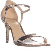 MICHAEL Michael Kors Simone Mid Sandal Ankle Strap Sandals, Soft Pink