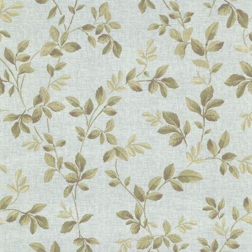 Brewster 344-68724 Cleo Dark Blue Dog Rose Leaf Trail Wallpaper