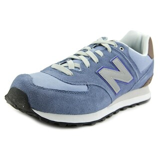 New Balance ML574 Men Round Toe Leather Sneakers