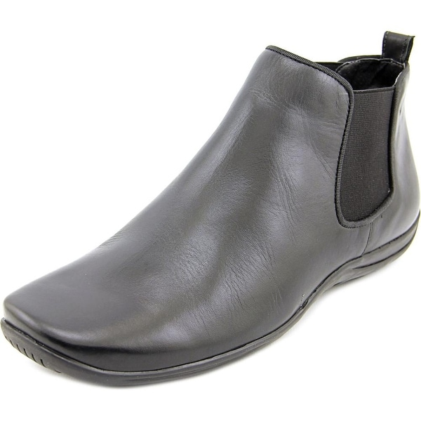 Walking Cradles Ante Round Toe Leather Bootie