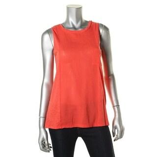 Stateside Womens Sleeveless Tank Pullover Top