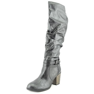Diba Pilot Women Round Toe Synthetic Knee High Boot