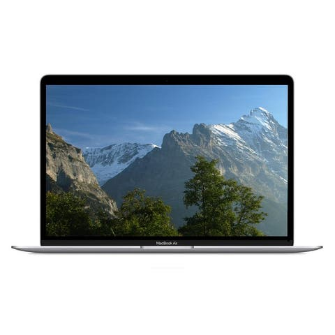MacBook Air 13.3-inch (Retina, Silver) 1.6GHz Dual Core i5 (2019) 128 GB Flash Hard Drive 16 GB Memory - Silver
