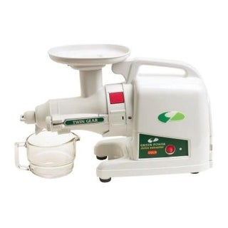 Tribest GP-E1503-B GreenStar Gold Juice Extractor - White