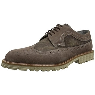 Kenneth Cole New York Mens Slow N Steady Oxfords Leather Brogue - 10 medium (d)