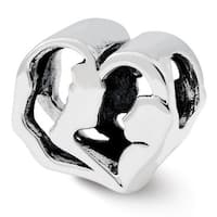 Sterling Silver Reflections Mother and Baby Bead (4mm Diameter Hole)