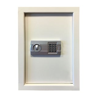 Offex Wall Safe with Electronic Lock - Beige