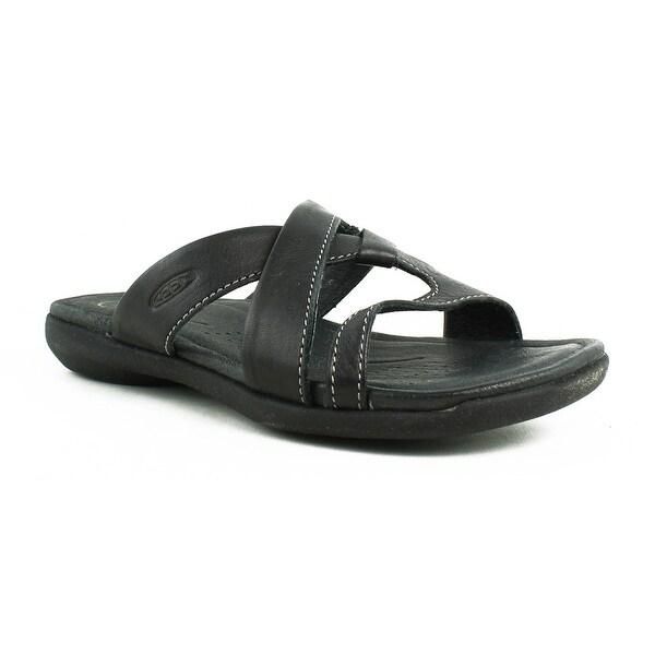 Shop KEEN Womens Rose City Black Slides Size 6 - On Sale - Free ... 009e3f10cb