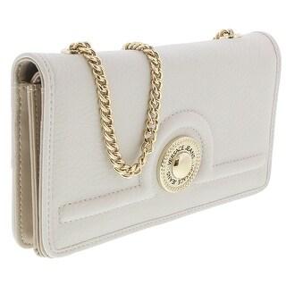 Versace EE3VRBPL2 Off White Wallet on Chain - 7.5-4.5-1
