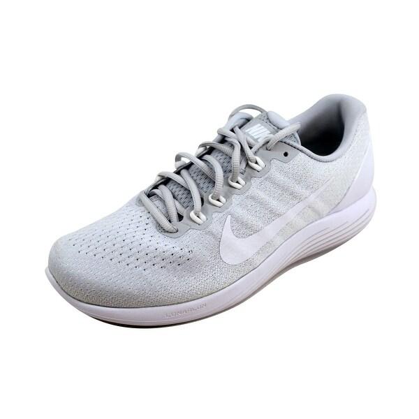 sports shoes 47943 8a0f0 Nike Women  x27 s Lunarglide 9 Pure Platinum White 904716-003