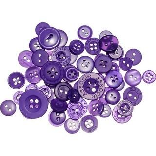 Ultra Violet - Buttons Galore Button Mason Jars