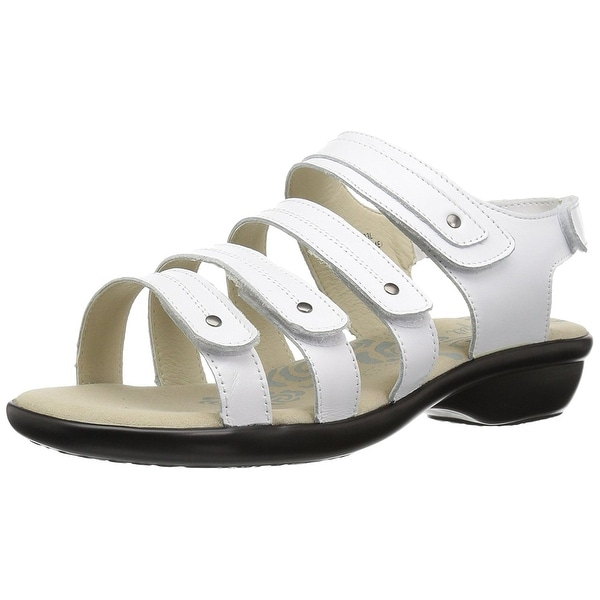 Propét Womens aurora Open Toe Casual Ankle Strap Sandals