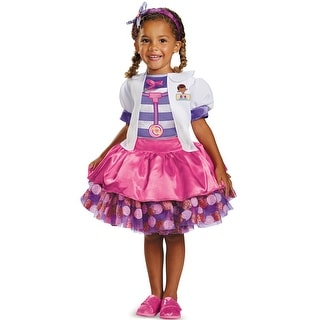 Disguise Doc McStuffins Tutu Deluxe Toddler/Child Costume - Pink/Purple