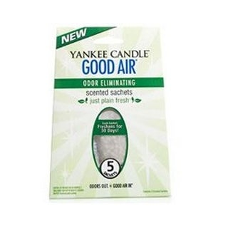 Yankee Candle 1276532 Good Air Odor Eliminate Sachet, Cool Morning Dew