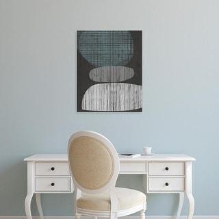 Easy Art Prints Jennifer Goldberger's 'Resting Shapes II' Premium Canvas Art