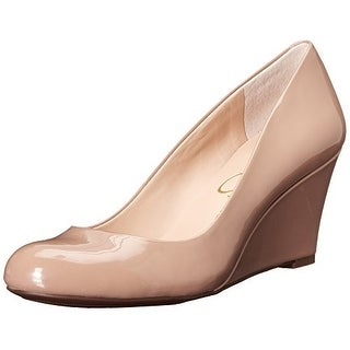 Jessica Simpson Womens Sampson Closed Toe Wedge Pumps