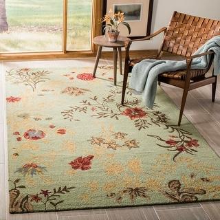 Safavieh Handmade Blossom Edwina Modern Floral Wool Rug