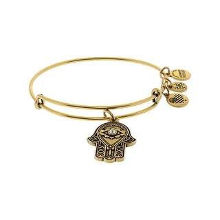 "Alex And Ani Women's Path Of Symbols Bangle Bracelet - 9"" - Gold"