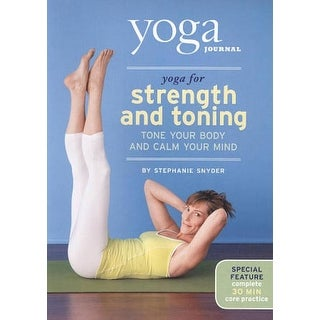 Yoga Journal: Yoga for Strength and Toning - DVD