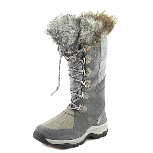 Clarks Wintry Hi Women Grey Snow Boots