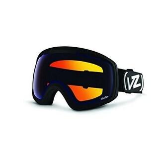 Vonzipper Unisex Feenom Nls Goggle, Black Satin/Wildlife Low Light, Os - black satin/wildlife low light
