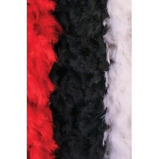 Forum Novelties Deluxe Feather Boa (Black) - Black