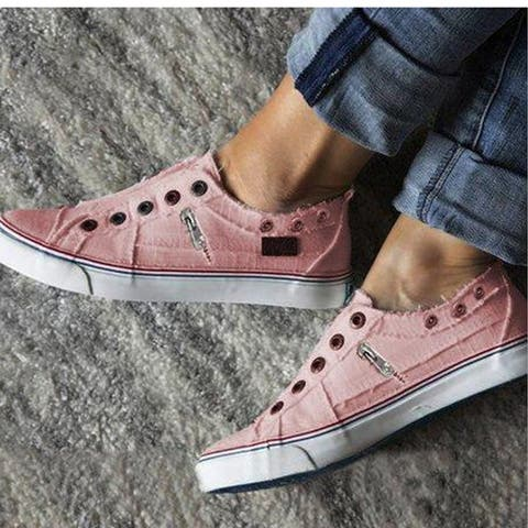 Casual Slip On Canvas Sneakers