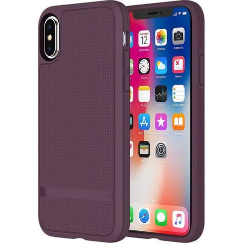 Incipio NGP Advanced Rugged Polymer Case for iPhone X - Plum - Purple