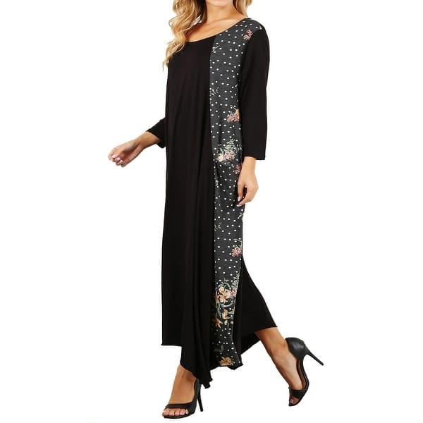 Shop Funfash Plus Size Women Black White Peach Long Sleeves ...