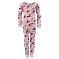 Cozy Couture Children's Long Sleeve Crew and Pant Pajama Set