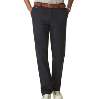 Dockers NEW Navy Blue Mens Size 36X30 Straight Khakis Chinos Pants
