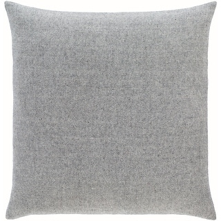 Link to Breman Houndstooth Wool Blend Throw Pillow Similar Items in Decorative Accessories