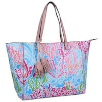 Mad Style Cool Coral Vivid Tote