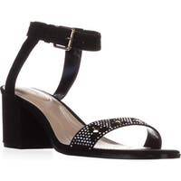 SC35Mullane2 Ankle Strap Dress Sandals, Black - 8 us