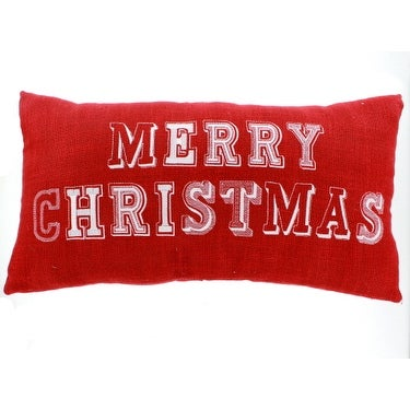 Merry Christmas Stitch Pillow