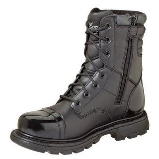 Thorogood Work Boots Mens Gen Flex Zip Tan Military Black 834-6888