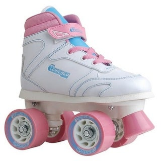 Chicago Skates Girls Sidewalk Roller Skate, Kids, White