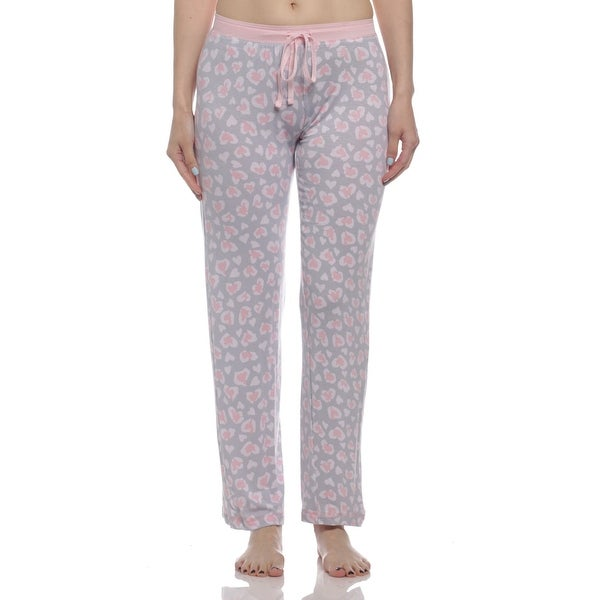 Shop Rene Rofe Womens Double Fun Heart Pajama Pants -2794