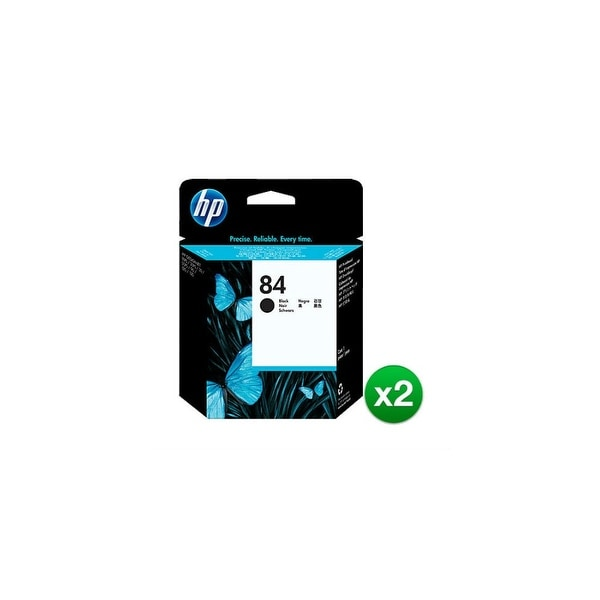 HP 84 Black DesignJet Printhead (C5019A) (2-Pack)