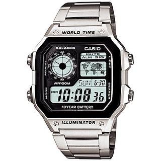 Casio Mens World Time Multifunction Watch