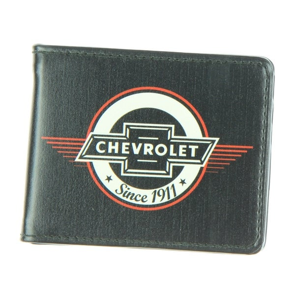 Chevrolet - Retro Chevy Bowtie SINCE 1911 Black/Red/White - Bi-Fold Wallet