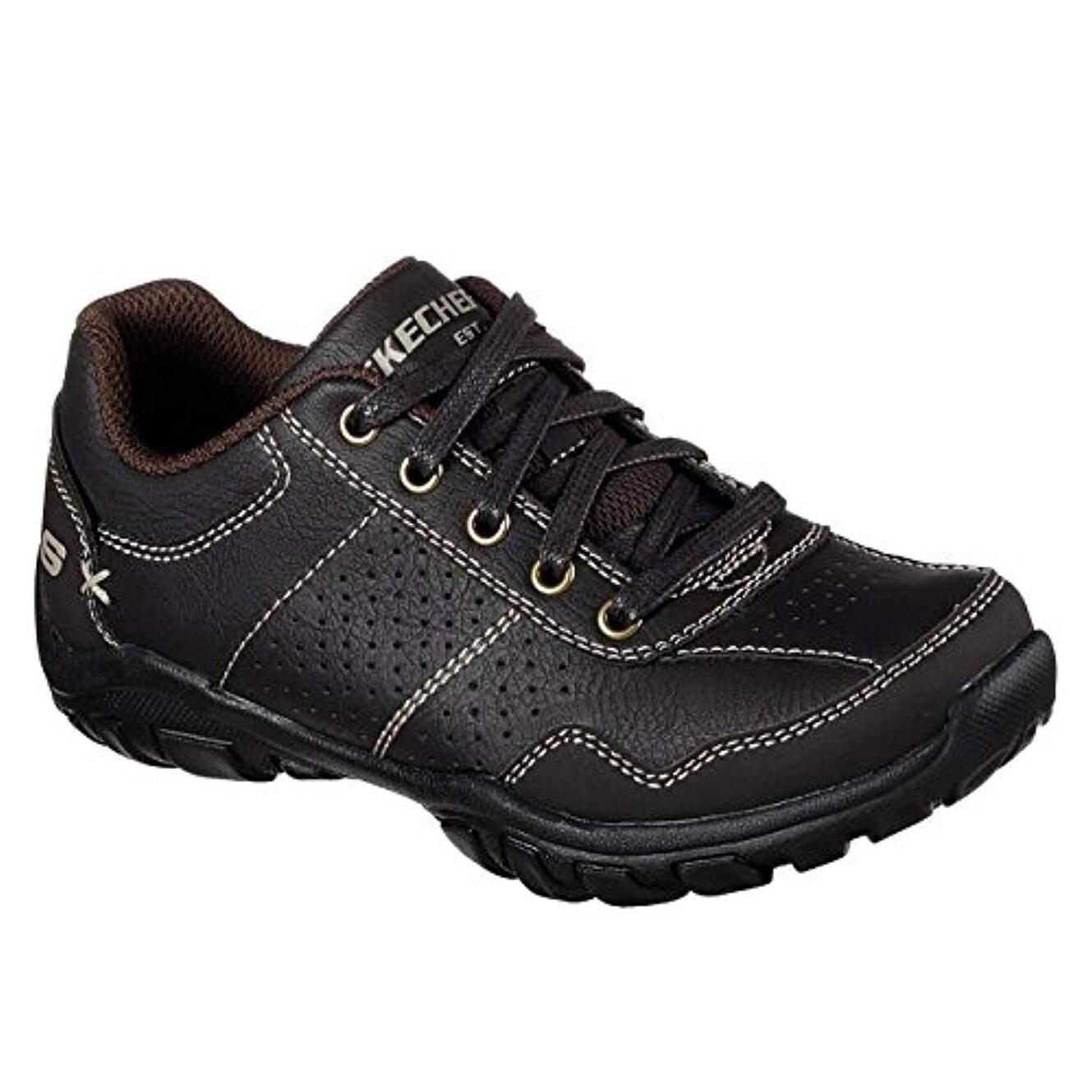 Skechers 96320L Boy's Relaxed Fit: Grambler Ii Sneakers, Chocolate 12