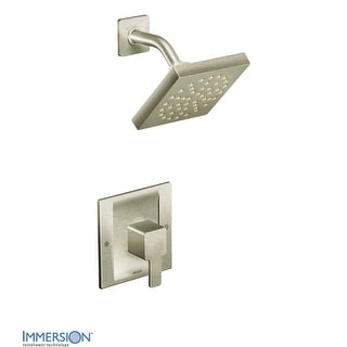 Moen TS3715  Single Handle Moentrol Pressure Balanced Shower Trim with Shower Head and Volume Control from the 90 Degree