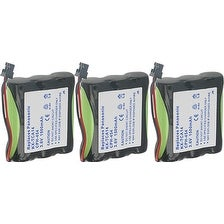 Replacement Panasonic P-P510 NiMH Cordless Phone Battery - 1500mAh / 3.6v (3 Pack)