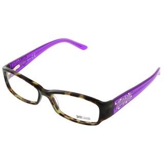 Just Cavalli JC0456/V 55A Brown & Purple Rectangle Optical Frames