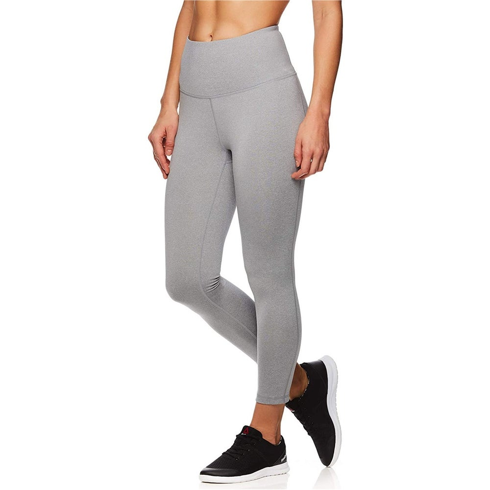ArizonaShopping Damen Sport Leggings Capri 3//4 Mesh Hose Fitness Pants D2431